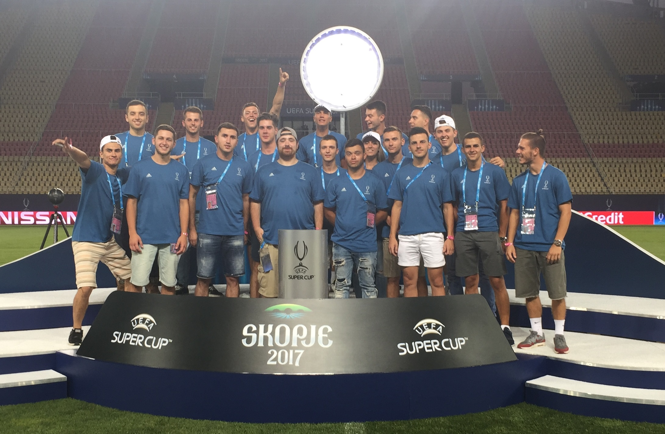 Volunteers 2017 UEFA Super Cup, Skopije